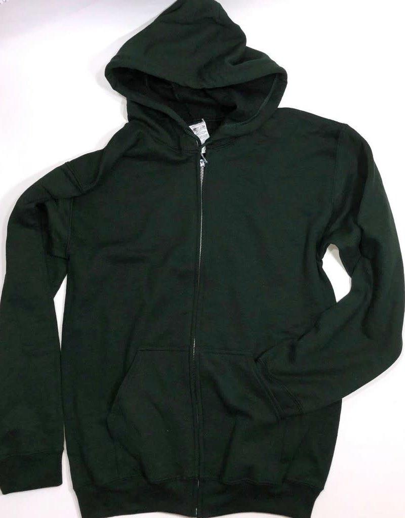 Schooluniform gilet kap steekzak groen  S/14