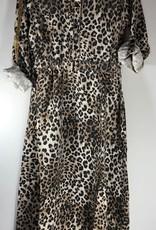 Guess jurk lang luipaard