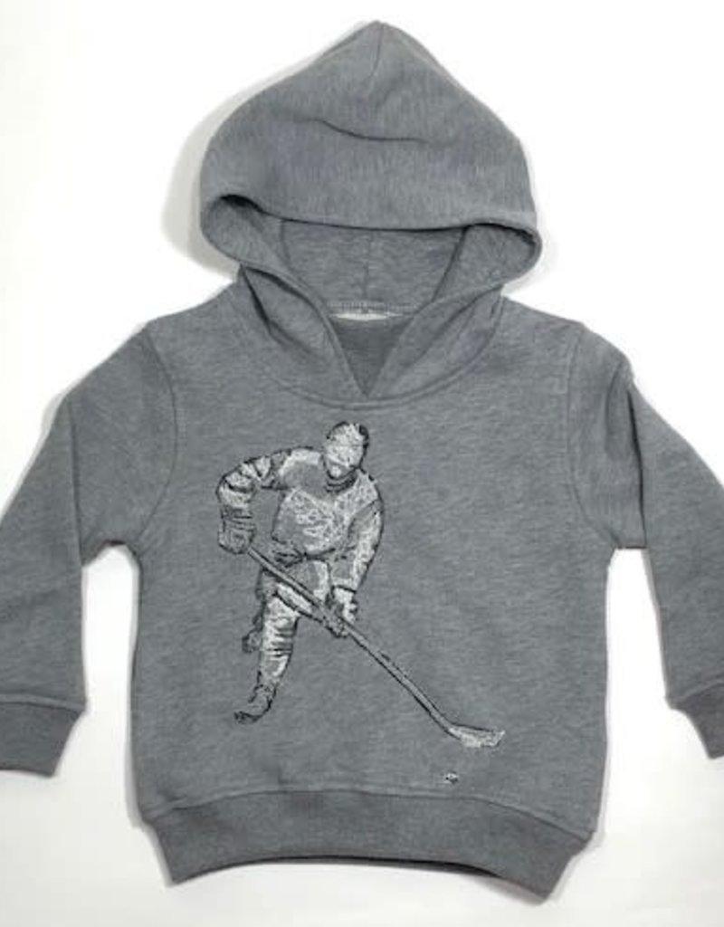 Il Gufo trui grijs kap ijshockey