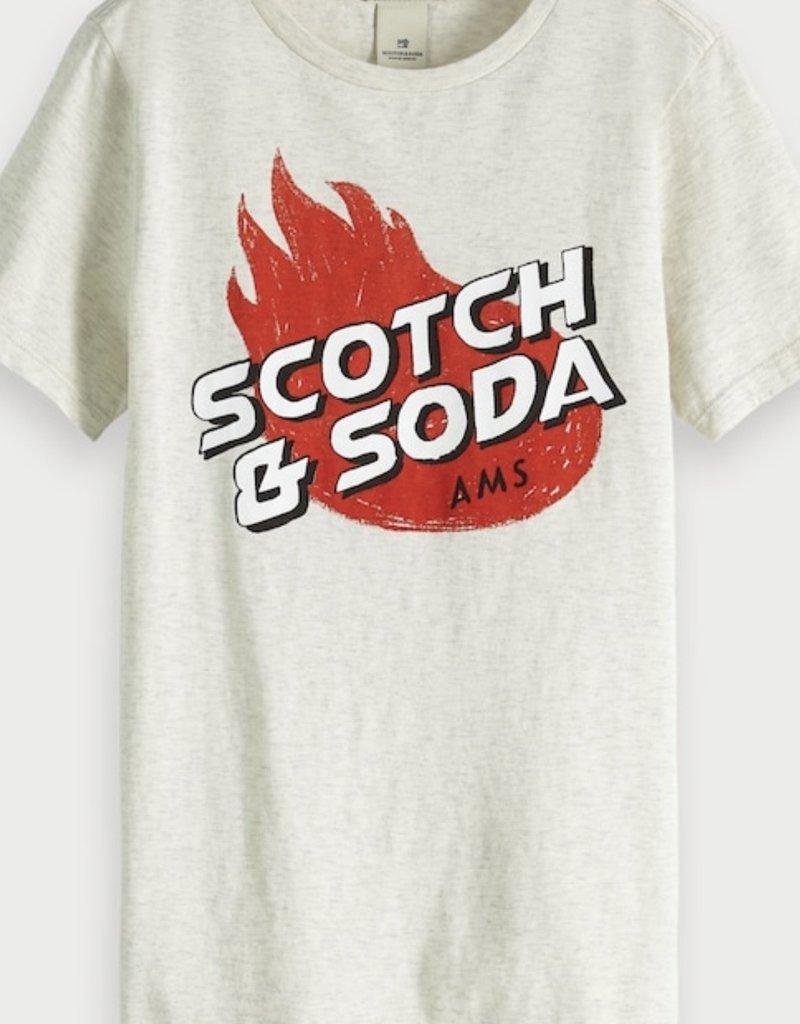 Scotch&Soda  t shirt km artwork