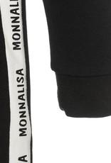 Monnalisa jurk zwart panter
