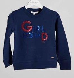 Blue Bay sweater numa blauw