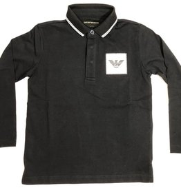 Armani polo lm donker blauw