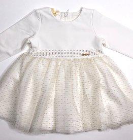 Liu Jo jurk wit goud