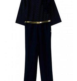Liu Jo jumpsuit blauw 1