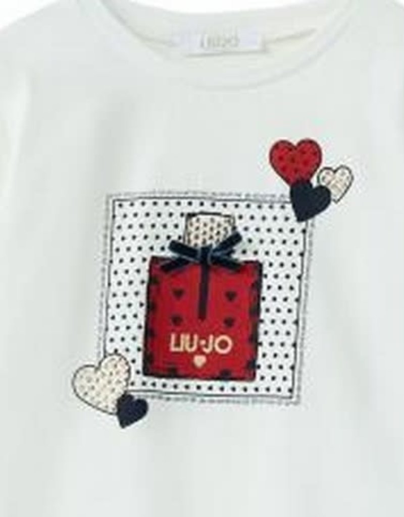 Liu Jo t shirt ecru parfum