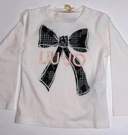 Liu Jo t shirt strik logo