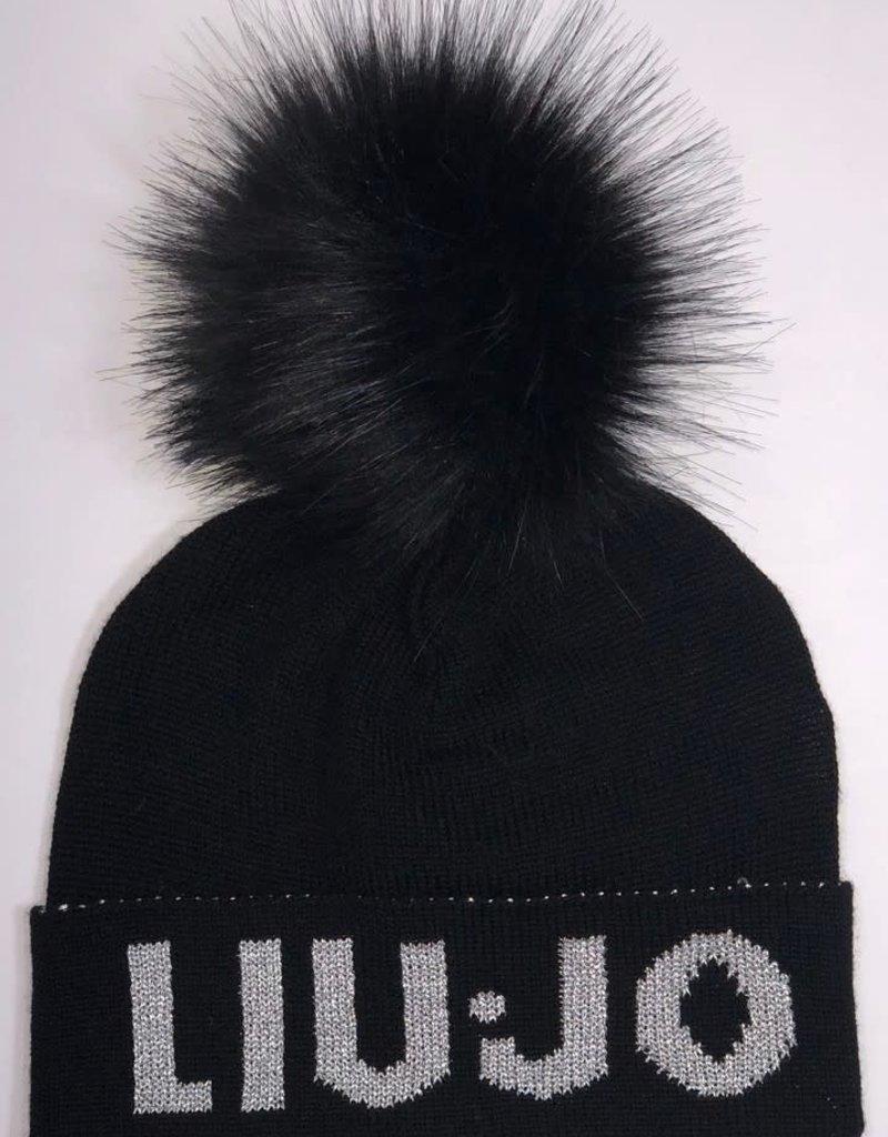 Liu Jo muts zwart logo