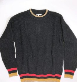 Kocca sweater zwart streep