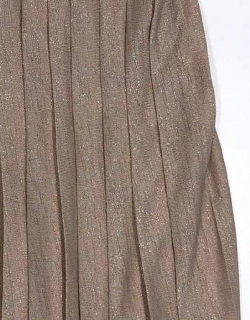 Relish rok plisse goud