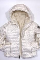 Jott jas teddy dons wit omkeerbaar