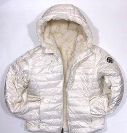 Jott jas teddy dons wit omkeerbaar 1 dames