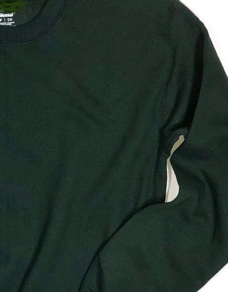 Schooluniform sweater groen ronde hals