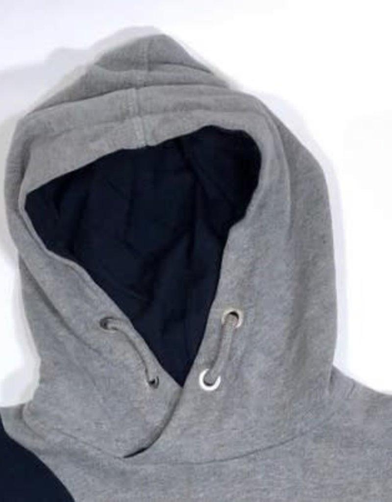 Scapa sweater nassy blauw grijs