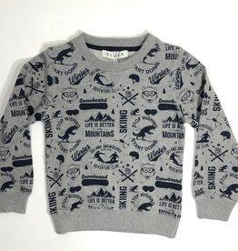 Scapa sweater ski grijs