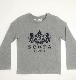Scapa T-shirt grijs