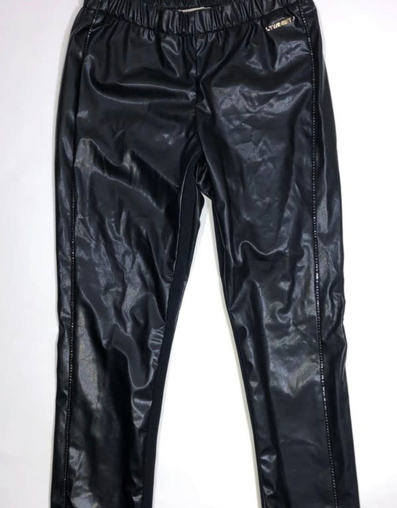 Twinset broek  zwart bling