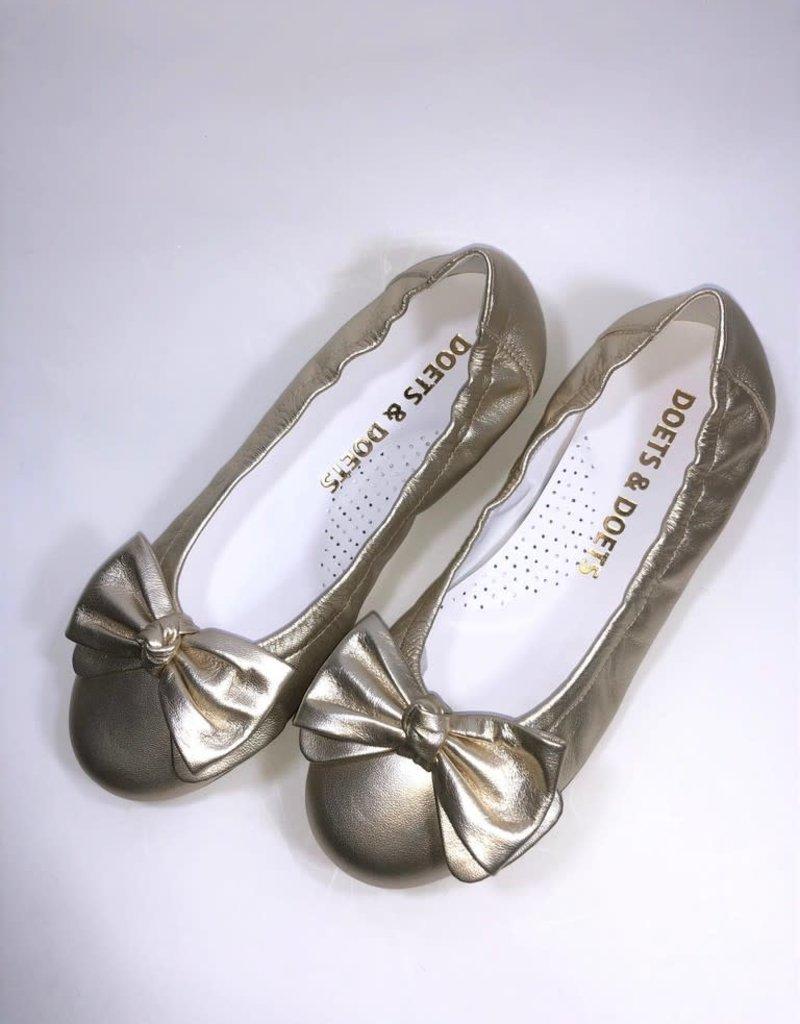 BACI schoen strik goud