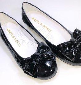 BACI schoen strik zwart lak