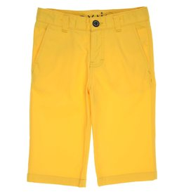 Gymp bermuda short chino geel Lombard