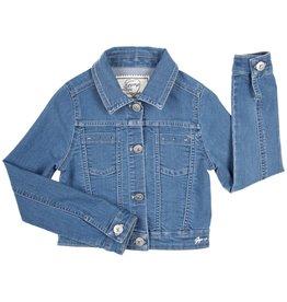 Gymp blazer vest jeans kraag blauw Collarason