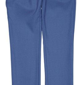 Gymp broek lang chino kostuum licht cobalt blauw Bancroft