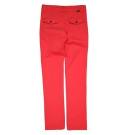Gymp broek lang rood chino Lombard