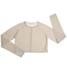 Gymp gilet goud knitted knopen