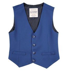 Gymp ondervest gilet  kostuum licht cobalt blauw Bancroft