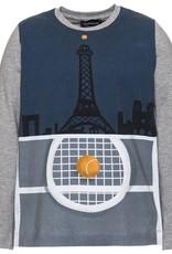 Monnalisa T-shirt tennis blauw