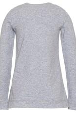 monnalisa T-shirt grijs strik
