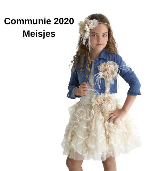 Meisjes communie kleding