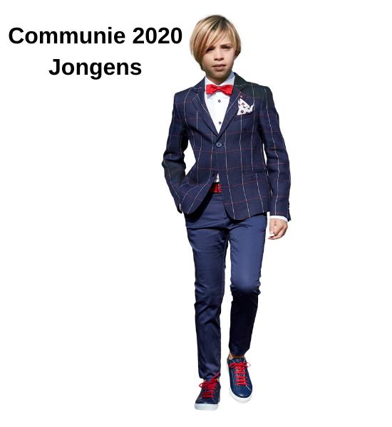 Jongens communie kleding