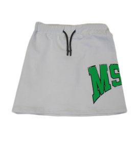 MSGM rok jersey grijs