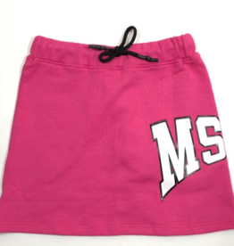 MSGM rok sweat fuchsia