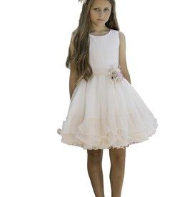 Mimilu jurk lagen voile rose