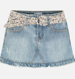 Mayoral rok jeans studs bleach