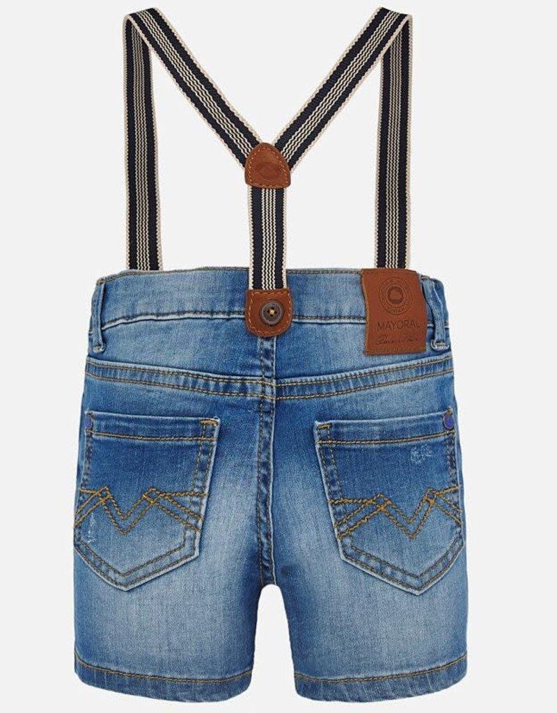 Mayoral Short jeans bretel
