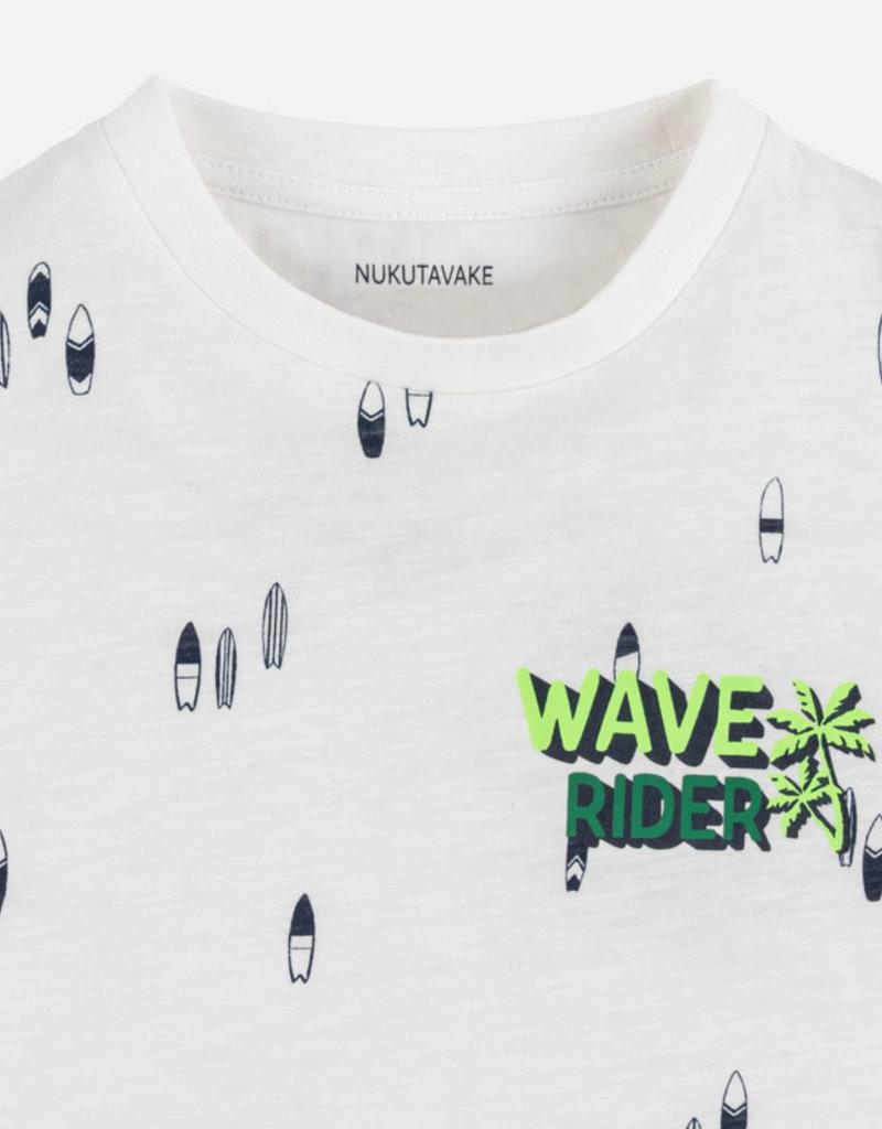 Mayoral T-shirt km creme wave