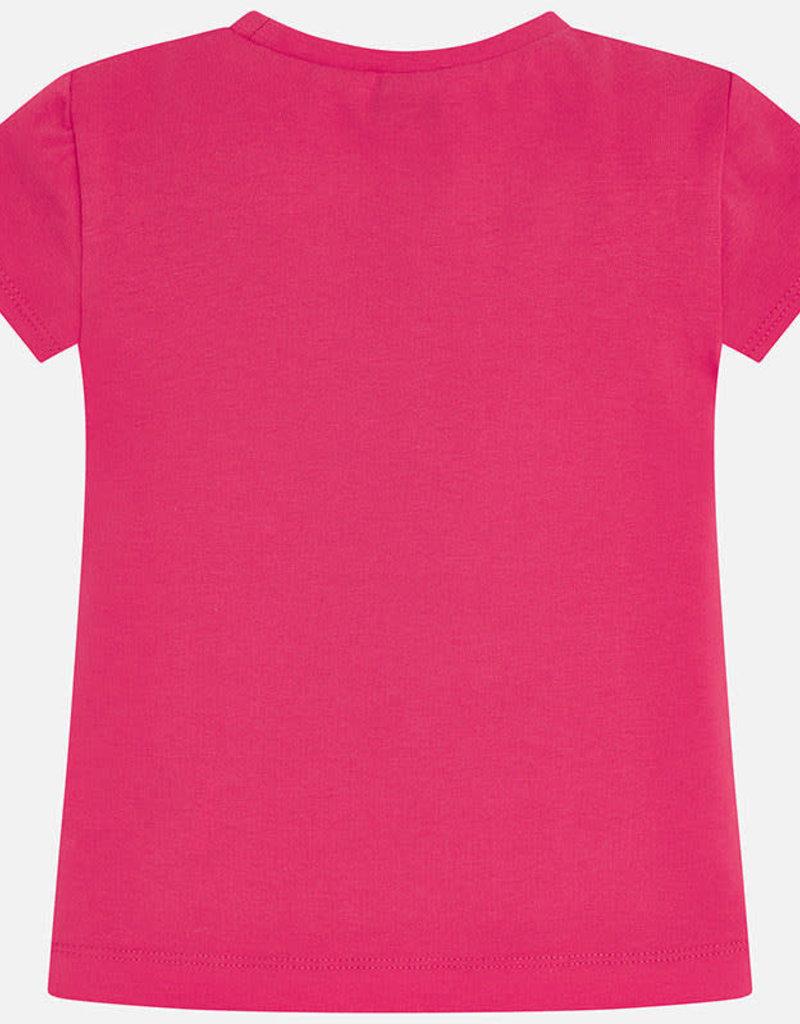 Mayoral T-shirt rood  kleuren