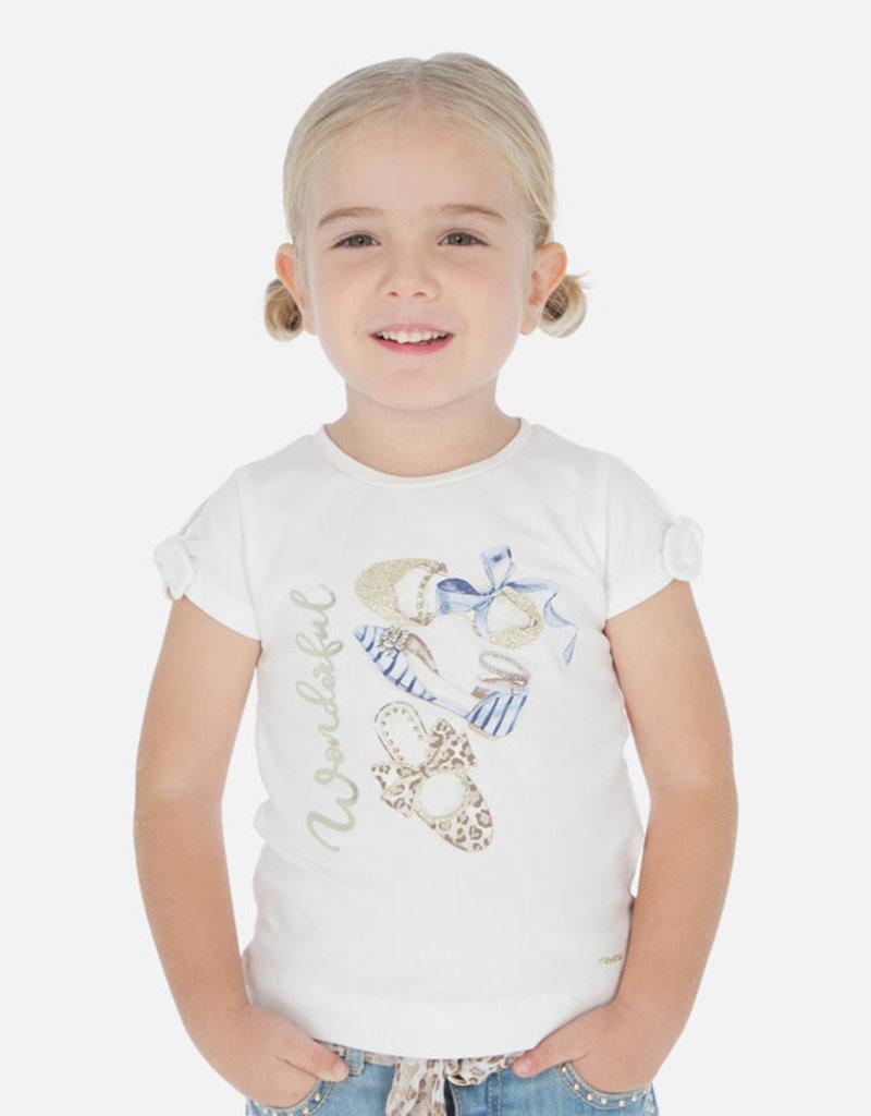 Mayoral T-shirt wit ballerinas