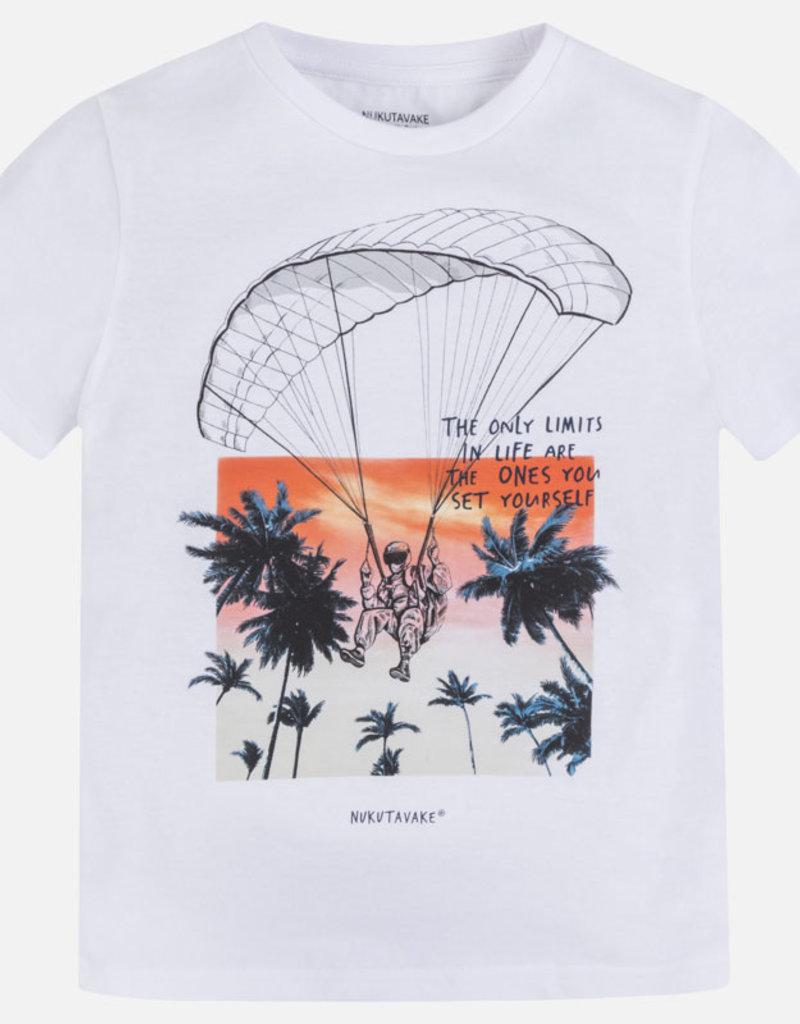 Mayoral T-shirt wit para
