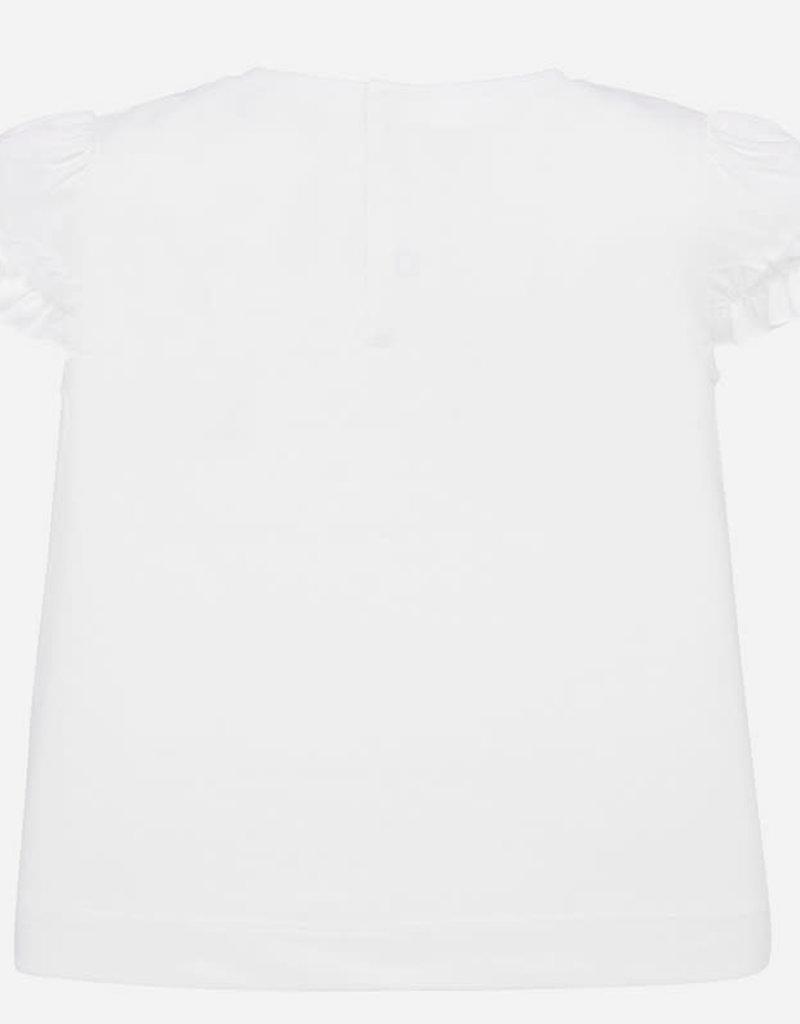 Mayoral T-shirt wit rondjes