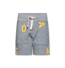 Ao76 short grijs letters Ao