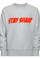 Ao76 sweater grijs stay sharp