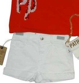 Patrizia Pepe short wit 2