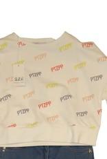 Patrizia Pepe sweater  wit ptzpp