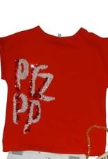 Patrizia Pepe T-shirt rood ptzpp