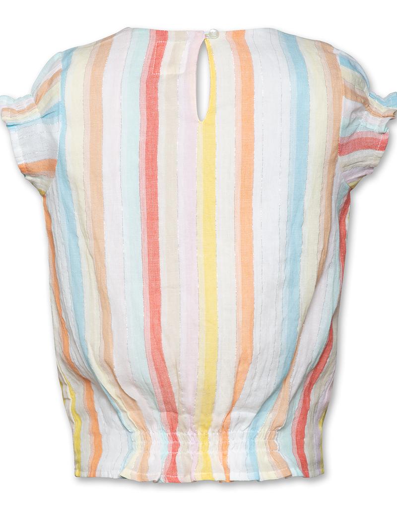 Ao76 blouse streep pam