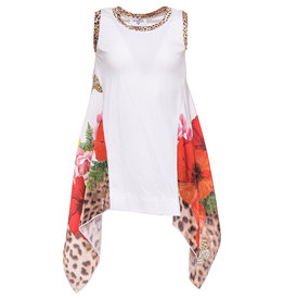 Monnalisa T shirt foulard